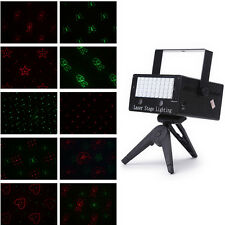 Mini DJ 45 LED Laser Licht Disco Projektor Party Stage Lasereffekt Fernbedienung
