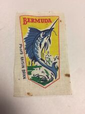 Post's Raisin Bran Cloth Patch Bermuda