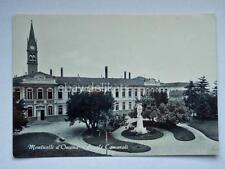 MONTICELLI D'ONGINA Piacenza scuole comunali vecchia cartolina