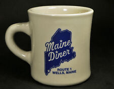 """Maine Diner Route 1 Wells, Maine Restaurant Ware Coffee Mug Cup """"New England"""""""