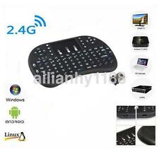 Mini 2.4G Wireless Keyboard and Mouse Combo with Touchpad for PC Android Black K