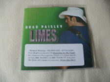 BRAD PAISLEY - LIMES - 2014 PROMO CD SINGLE