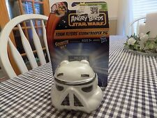 Angry Birds Star Wars Toy Foam Flyers Storm Trooper Pig Ball Hasbro 2013
