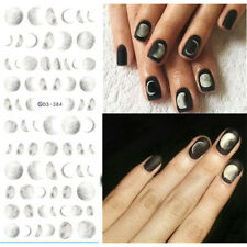 1 Sheet Nai Art Water Transfer Decal Manicure Sticker Decor Moonlight Pattern