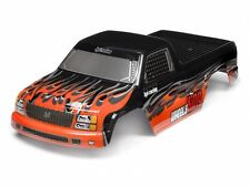 (HPI 7774) Wheely King Mini GT-1 Painted Truck Body Oragne+Black