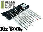 Sculpting Tools - 10 pcs - Wax Carvers - Green Stuff Carver tool - Warhammer 40k