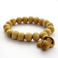 11mm*10mm Wood Beads Tibet Buddhist Prayer Bracelet Mala