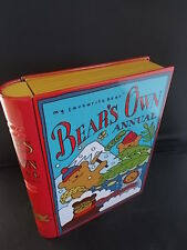 My Favourite Bear Adventures BEARS OWN ANNUAL Artisan BOOK Biscuit Tin Bookmark