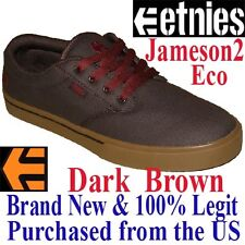 Etnies JAMESON 2 ECO Men's SIZE 9.0 Skateboard Shoes - BROWN Skate BMX Sneaker