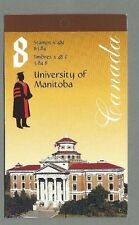 CANADA 2002 Booklet - UNIVERSITY OF MANITOBA - 8 @ 48c. - Complete MNH