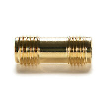 New Gold Plating Adapter SMA Female to SMA Female Jack RF Connector Straight RE