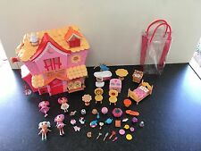 Lalaloopsy House With Dolls & Accessories In Excellent Condition