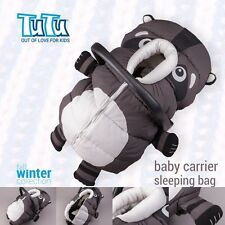 FOOTMUFF HOOD Warm Cover Sleeping Bag for Baby Infant Car Seat Carrier RACOON