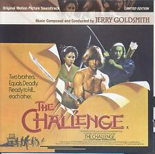 The Challenge - Jerry Goldsmith OOP limited edition Prometheus CD