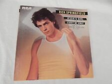"Rick Springfield ""Jessie's Girl"" PICTURE SLEEVE! MINT! ONLY COPY ON eBAY!!"