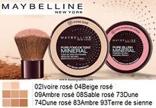 GEMEY MAYBELLINE FOND DE TEINT PURE MAKEUP POUDRE MINERAL 09 AMBRE ROSE