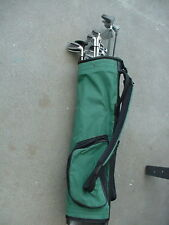 LADIES VERY NICE GOLF SET W 13 CLUBS CARRY BAG & BALL ALL MATCHING IRONS 176fc12