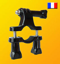Support fixation caméra GoPro Hero 1 2 3 3+ 4 moto vélo guidon scooter quad