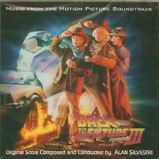 "Alan Silvestri:  ""Back To The Future III""   (Soundtrack Score-CD)"