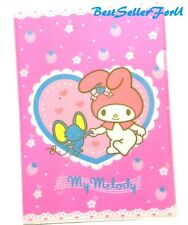 Licensed Sanrio My Melody Folder A4 Paper Document File Case Holder Pocket Bag
