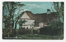 Fine Arts Postcard , Poet's House, Wilford, Notts
