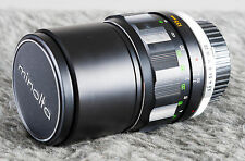 Minolta 135mm F2.8 MC Tele Rokkor PF - Very Nice!   Tested/Guaranteed