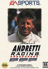 NEW SEALED W/CRUSHED BOX MARIO ANDRETTI RACING FOR SEGA GENESIS CONSOLE SYSTEM