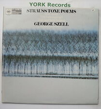 61216 - RICHARD STRAUSS - Tone Poems - SZELL Cleveland Orc - Ex Con LP Record