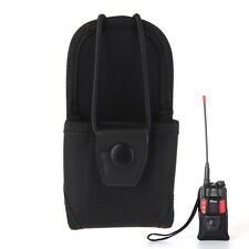 Durable Nylon Holster TwoWay Radios Walkie Talkie Waist Chest Holder Hanging Bag