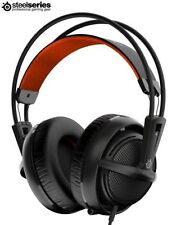 SteelSeries Siberia 200 Gaming Headset Headphones - Black - PC - Mac - PS4 - UK