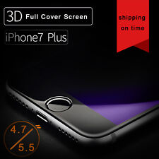 Anti Blue-Ray 3D Curved Tempered Glass Flim Screen Protector For iPhone 7/7 Plus