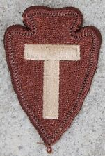 New 36th Infantry Division Patch, Sew-On, Desert Tan