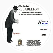 BEST OF RED SKELTON - 213 Shows Old Time Radio In MP3 Format OTR On 1 DVD