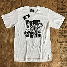 UNDEFEATED UNDFTD WOLF STRIKE WHITE T SHIRT SIZE SMALL NEW WITH TAG