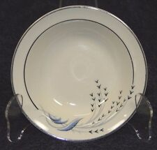 Taylor Smith Taylor Premier Blue Wheat Berry Fruit Bowl Vintage 30's