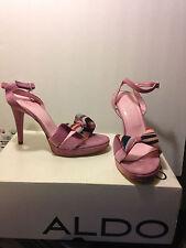 Aldo Women Suede, Platform, High Heel Stiletto Sandal, NEW, Size 8