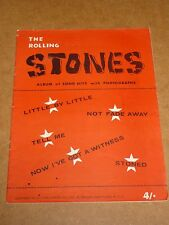Rolling Stones self titled 1964 song book