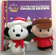 Hallmark Itty Bittys IT'S A TREE-TUMBLING CHRISTMAS CHARLIE BROWN Book & Bitty