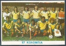 AGASTA GREEK ISSUE-ITALIA 1990- #067-COLOMBIA TEAM PHOTO