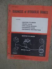 1974 Ford Diagnosis of Hydraulic Brakes Auto Manual MORE FORD IN OUR STORE  U