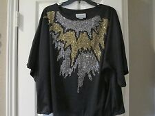 Ladies top blouse - special occasion top - Persuasions - XL