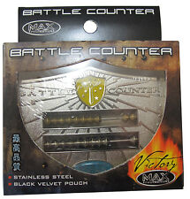 MAX PROTECTION VICTORY SERIES BATTLE COUNTER ABACUS STAINLESS MAGIC SEGNAPUNTI