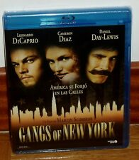 GANGS OF NEW YORK - BLU-RAY - NUEVO - PRECINTADO - DRAMA - LEONARDO DICAPRIO