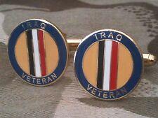 Iraq Veteran Military Cufflinks