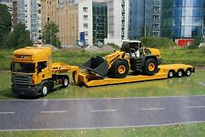 Siku 3933 - Scania R620 with Four Wheel Liebherr L580 Loader - Scale 1:50