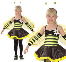 Childrens Bumble Bee Fancy Dress Costume Wasp Insect Outfit Childs Kids M
