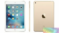 "Apple iPad Mini 4 Gold 16GB 7.9"" Wifi + Cellular 4G LTE AU WARRANTY Tablet"