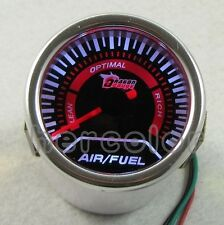 "NEW CAR TRUCK AUTO UNIVERSAL 2"" 52MM AIR/FUEL RATIO POINTER LED GAUGE"