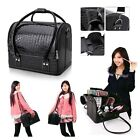 Large Space Make up Case Beauty Cosmetic Box Vanity Case Nail Tech Storage Bag