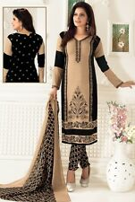 Elegant Crepe Designer Printed Unstitched Dress Material Suit D.No SFD9025